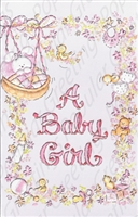 Pkt #199-447-Baby Girl Congratulations