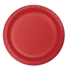 "3548LP-Classic Red 8.75"" Dinner Plates"