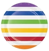 "7068LP-Multicolor 8.75"" Dinner Plates"