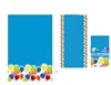 "788TC-Party Balloons 54"" X 108"" Table Cover"