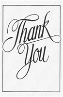 Pkt #9-1061-Thank You Card