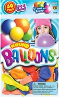113-50 Ct Assorted Balloons