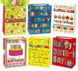 Gift Bag-Large Birthday