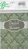 Packaged Invites Bridal Shower