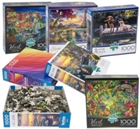17686-1000 Piece Colorluxe Puzzle