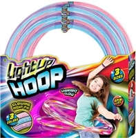 187-Light Up Hoop 24 piece/PDQ