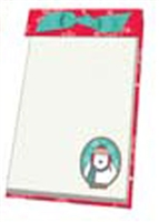 Christmas Ribbon Note Pad-XMNOTE